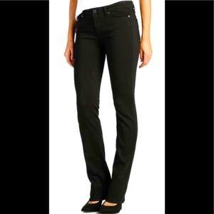 Paige Skyline Straight Black Jeans Size 26